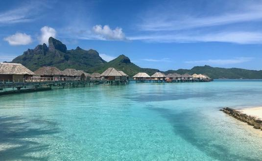 Bungalows du Four Seasons Bora Bora