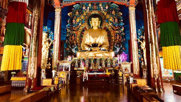 Neydo Monastery, Pharping, Nepal