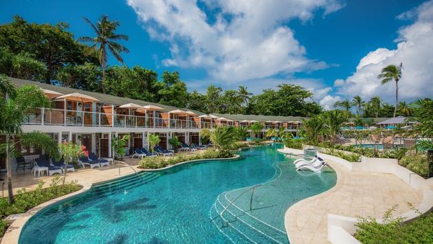 Sandals Halcyon Saint Lucia Swim-up Rooms