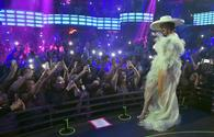 Cardi B performs at KAOS nightclub at Palms Casino Resort in Las Vegas