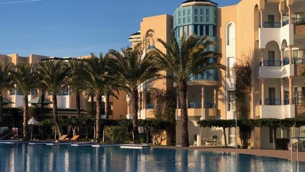 The magnificent Hasdrubal Thalassa & Spa hotel in Yasmine