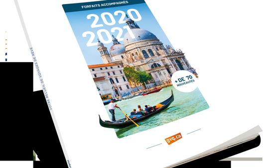 Nouvelle brochure 2020-2021 Groupe Voyages Québec