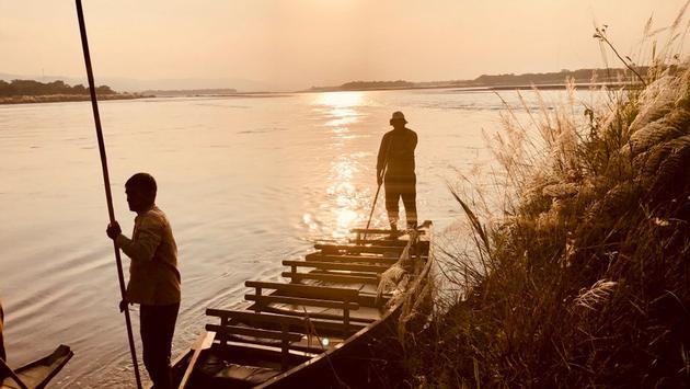 Rapti River, Chitwan, Nepal