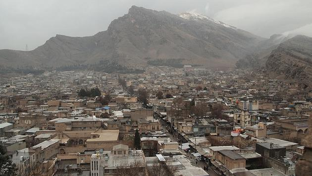 The city of Kermanshah in Kermanshah province in Iran. The province is one of the hardest hit areas of today's 7.3 magnitude earthquake.