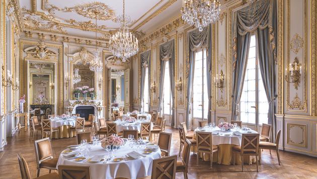 The Grand Salon at Shangri-La, Paris.