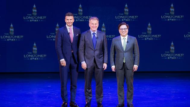 Londoner, Macao, David Beckham