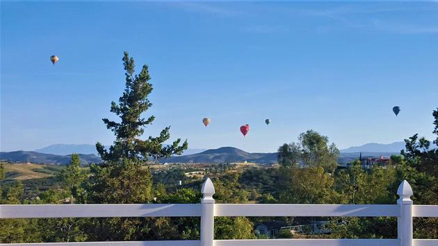 Hot Air Balloons Over the Temecula Valley