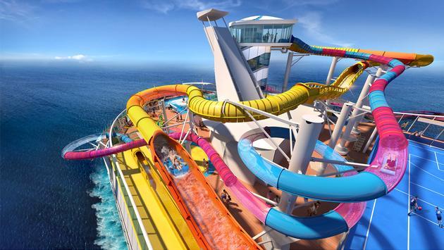 Perfect Storm pool deck on Navigator of the Seas