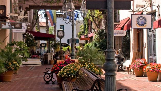 Beautiful Downtown Santa Barbara