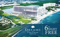 6th Night Free at Dreams Vista Cancun Resort & Spa