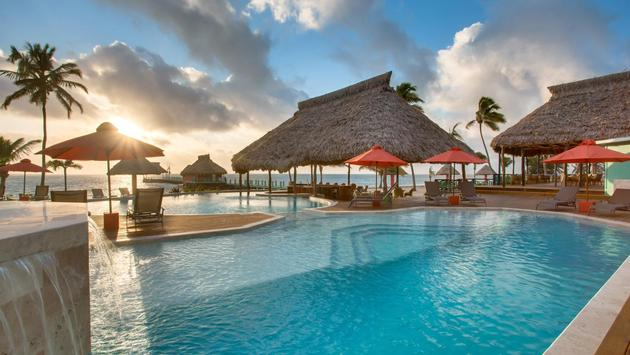 Costa Blu Beach Resort, belize, wyndham, pool