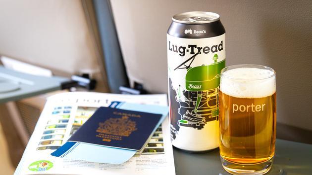 Porter Airlines porte un toast à Beau's Brewing Co.