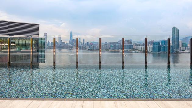 Swimming pool hotel Vic - Hong Kong