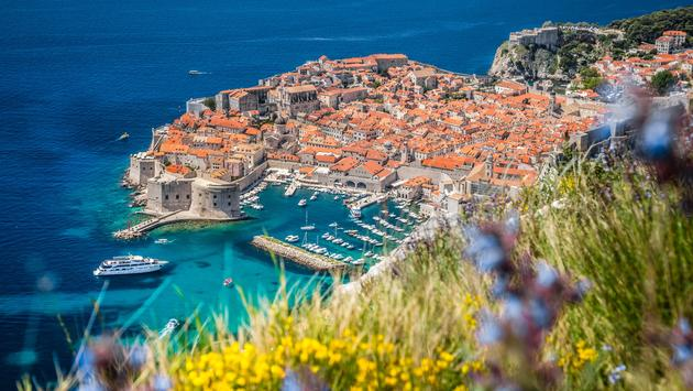 Old town of Dubrovnik in summer, Dalmatia, Croatia