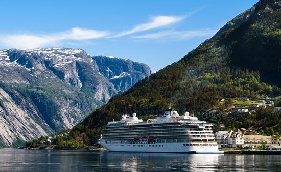 Viking Sun in Eidfjord