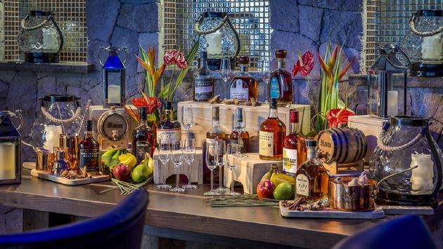 Marigot Bay Resort & Marina features a plethora of regional rum offerings