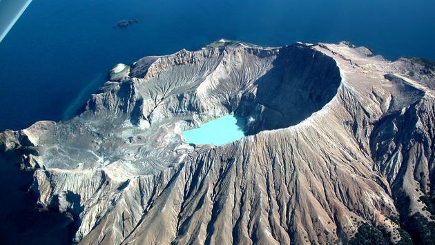 White Island, New Zealand, volcano