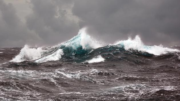 waves, storm, travel