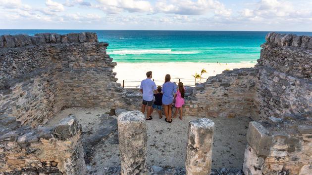 Ruins at Park Royal Hotel, Cancun