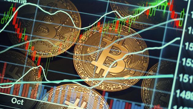 bitcoin trading market data chart