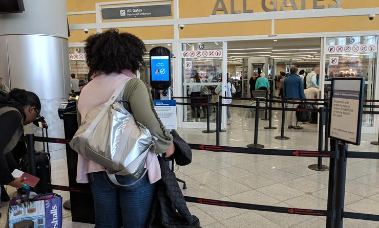 Facial Recognition at the Airport