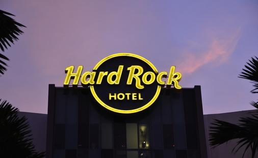 Hard Rock Hotel sign