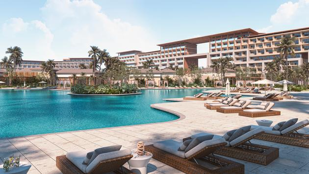 One of two new all-inclusive resort properties being opened in the Caribbean by Marriott