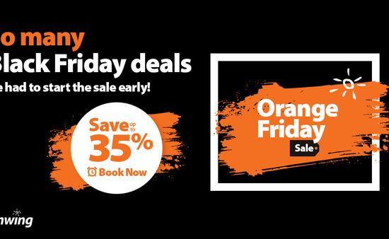 Orange Friday Sunwing Sale