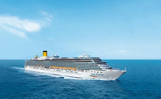 Costa, Cruises, Deliziosa