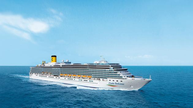 PHOTO: Costa Deliziosa. (photo via Costa Cruises)