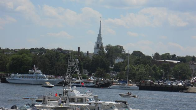 Newburyport harbor, massachusetts