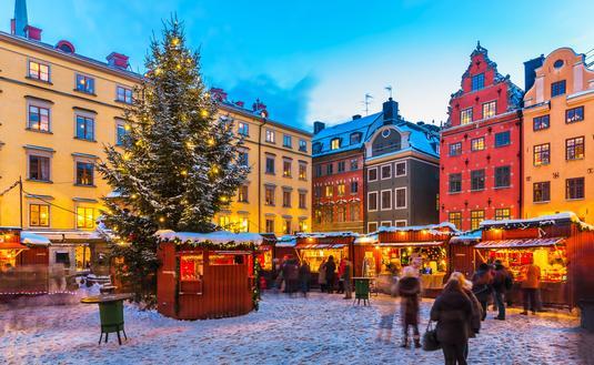 Stockholm, Sweden, Christmas, winter