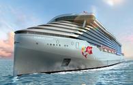 Virgin Voyages' Scarlet Lady rendering