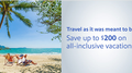 Save up to $200 on all-inclusive vacations