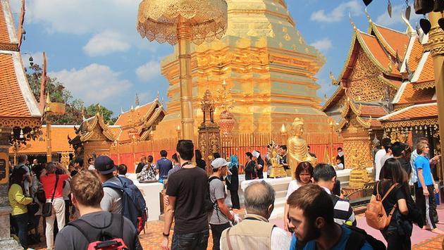 Doi Suthep, Thailand, temple, chiang mai