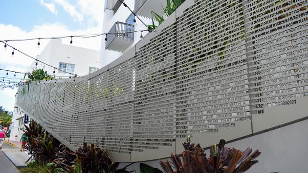 Poetry Rail at The Betsy Hotel in Miami, Florida