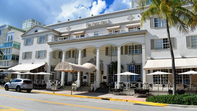 The Betsy Hotel in Miami, Florida