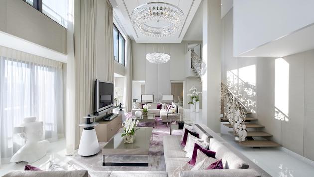 Mandarin Oriental, Paris Royal Mandarin Living Room