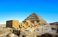 Pyramid of Djoser in the Saqqara necropolis
