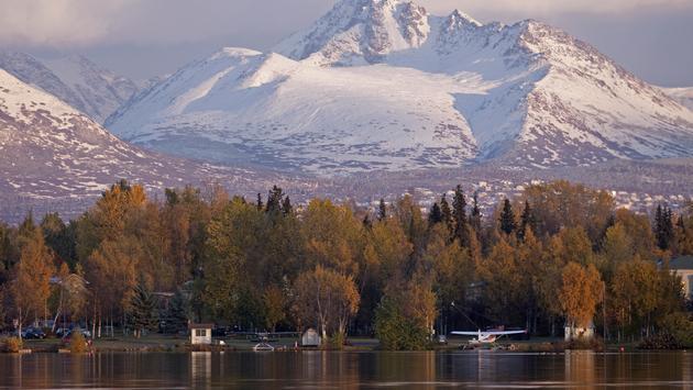Autumn in Anchorage, Alaska