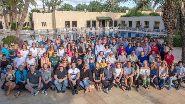 Ensemble elite in Morocco.