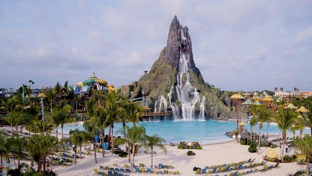 Waturi Beach at Universal Orlando Volcano Bay