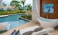 Up to $1,000 Instant Credit: Royal Seaside Crystal Lagoon Swim-up One Bedroom Butler Suite w/ Patio Tranquility Soaking Tub