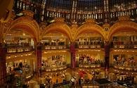 Galeries Lafayette an upmarket Paris department store