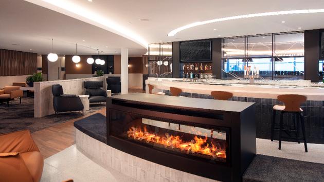 WestJet's Elevation Lounge at YYC