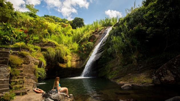 Concord Waterfall in Grenada