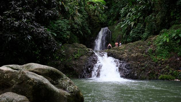 Seven Sister Waterfall in Grenada