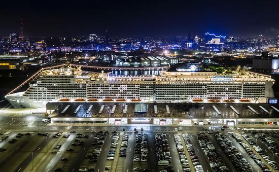 MSC Grandiosa, MSC Cruises' newest flagship.