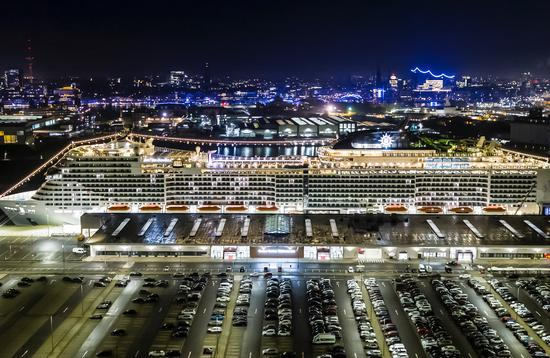 MSC Grandiosa, MSC Cruises' newest flagship.
