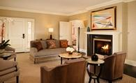 Garden Suite With Fireplace at The Beverly Hills Hotel